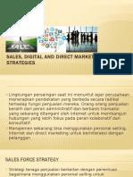 Sales, Digital, And Direct Marketing Strategies