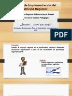 Implementacion Del Curriculo Regional