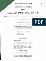 Bussi, Antonio Domingo - Denuncia Cámara de Diputados Año 2000