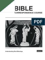 Bible Law Lesson 4