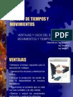 10. Ventajas y Usos Del Estudio de Movimientos y Tiempos