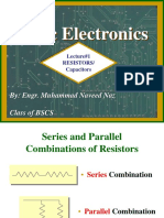 Resistor and capacitor electronic lecture part 2