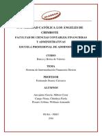 La Intermediación Financiera Directa