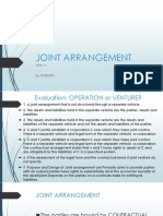Joint Arrangement