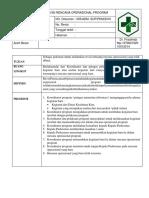 Sop Revisi Operasional Program