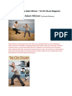 Interview With Sifu Adam Mizner