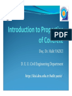 1-Introduction to prperties of concrete