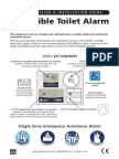 Disabled toilet Alarm Install Guide