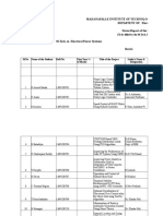 Copy of M.tech. Status Report