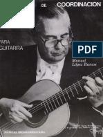 Ejercicios de Coordinación para Guitarra LÓPEZ.pdf