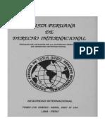 Revista Peruana de Derecho Internacional TOMO LVII ENERO - ABRIL 2007 Nº 134