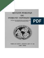 Revista Peruana de Derecho Internacional TOMO LVII MAYO - AGOSTO 2007 Nº 135