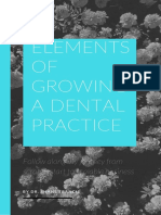 Elements of Growing a Dental Practice