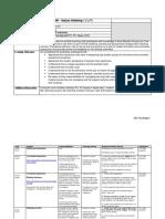 Quizzes Workshop Outline Plan