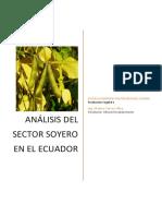 Análisis Del Sector Soyero en El Ecuador