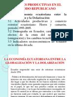 Dolarización Ecuatoriana