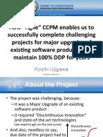 Tocico2016 Agile Ccpm