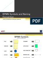 BPMN Symbols and Naming Conventions