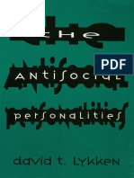 David T. Lykken-The Antisocial Personalities-Psychology Press (1995)