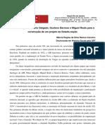 A Contribuicao de Plinio Salgado, Gustavo Barroso e Miguel Reale Para a Construcao de Um Estado - Nacao