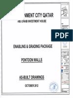 Pontoon Wall - As Built Drawings