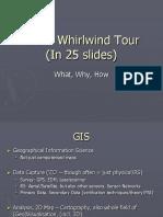 GIS Whirlwind Tour