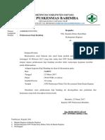 Surat Pendampingan Dan Tenaga Medis