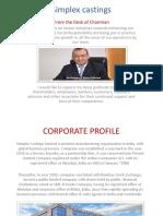 Simplex Castings PDF