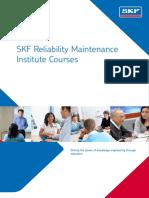 SKF Reliability MaintenanceInstitute Courses.pdf