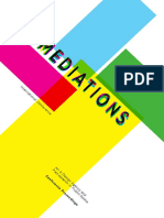 MEDIATIONS2016 Conference Proceedings