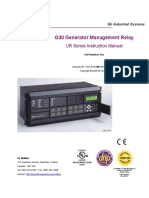 GE PC G30 Relay - Manuale
