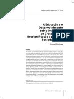 A Educação e desenvolvimento.pdf