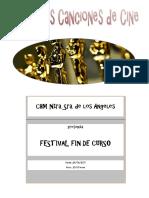 FESTIVAL FIN DE CURSO 2017