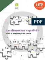 Démarches Qualité GART UTP 092014