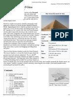 Great Pyramid of Giza - Wikipedia