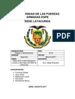 Informe Casa de La Cultura y Gad Municipal