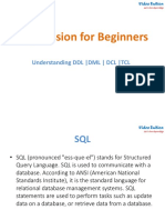 Sql_instructions Ddl Dml Dcl Dql