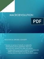 Macroevolution Microevolution EP