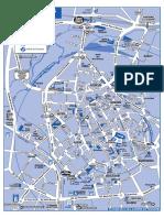 Plan Accès Et Centre-Ville de Bourges