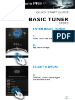 Drumtune PRO 2.0 App Manual