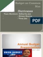 Arun Jaitley's Budget 2016-2017.pptx