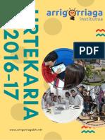 2016-2017ko urtekaria