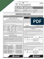 Diario Oficial El Peruano, Edición 9732. 20 de junio de 2017