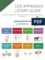 The Paleo Approach Quick Start Guide Sarah Ballantyne