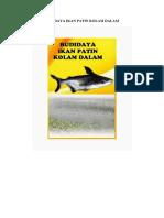 Budidaya Ikan Patin Kolam Dalam