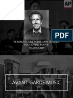 Avant-Garde Music and Composers
