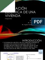 Instalacion Electrica de Una Vivienda (PPT)