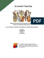 Instrument Families - Instrument Families