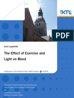 Excercise Light on Mood
