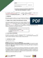 MINIPLIEGO CONTRATACIONES MENORES A 1100 UT (SERVICIOS).doc